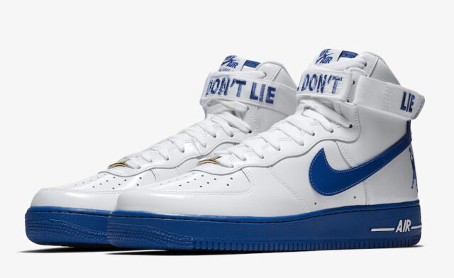 more photos dcbea b8bff Nike Air Force 1 High Retro CT16 QS Sheed Rude Awakening Size 11 Blue  AQ4229-