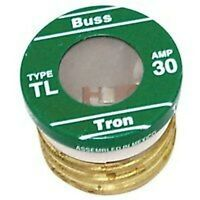 Lot Of (16) Tl-30 Bussman 30 Amp Screw In Base House Plug Fuses 4182135