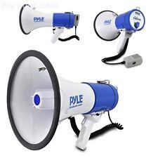Megaphone Bullhorn 50 watt Piezo Dynamic Siren Talk Speakers Loud Sound Outdoor