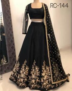 Lehenga Blouse Design In Black Colour