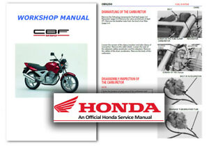 honda cbf250 cbx250 twister service workshop repair shop manual cbf rh ebay co uk honda cbf 250 manual de taller honda cbf 250 manual pdf
