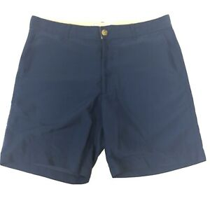 Flint-amp-Tinder-Huckberry-Mens-Blue-Chino-Shorts-Size-36-Made-in-USA-8-034-Inseam