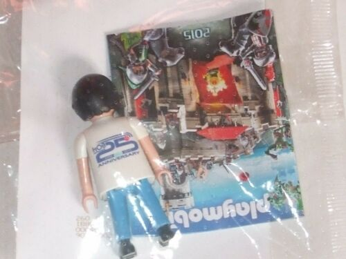 PLAYMOBIL PROMOTION HOB SOFTWARE 25TH ANNIVERSARY COLLECTIBLE RARE PROMO HOB 25