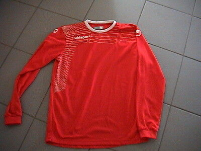 """""uhlsport Team Langarmshirt Fussball Training Gr. M 48/50"" Top Modischer (In) Stil;"