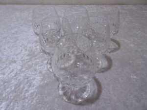 6 X VB Cristallo Design Bicchiere da Cognac - Vintage