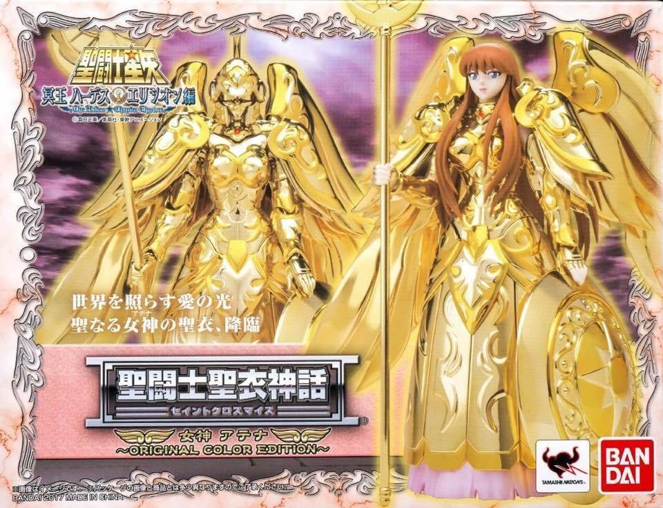 Saint Seiya myth cloth EX Athena OCE original japan neuf