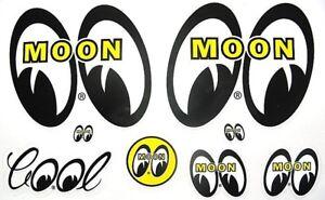 Mooneyes Decal Assort Hot Rat Rod Car Street Drag Racing + Clay Smith Sticker
