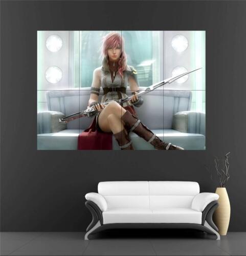 Lightning Farron Final Fantasy Huge Poster 4 A249