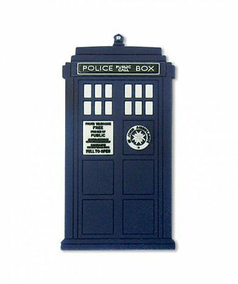 DOCTOR WHO TARDIS RUBBER FRIDGE MAGNET NEW OFFICIAL MERCHANDISE PYRAMID
