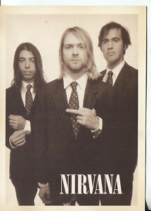 PICTURE-POST-CARD-OF-NIRVANA-LOOKS-LIKE-IT-IS-FROM-1994-NOT-ORIGINAL-POSTCARD
