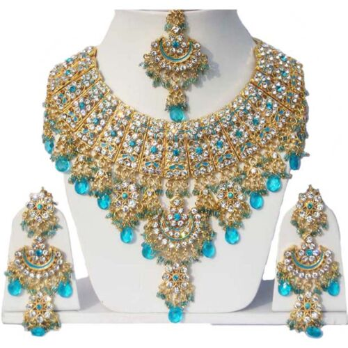 8 Designs of Pink Color Gold Plated Kundan Zerconic Bollywood Ethnic Necklaces