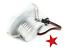 FARETTO-LED-COB-3w-40w-puntoluce-fisso-incasso-a-molle-240Lm-220v