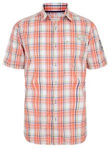 ESPRIT Mens Regular Long Sleeve Check Shirts Casual Cotton Shirt Blue S