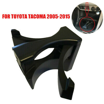 CENTER CONSOLE WATER CUP HOLDER INSERT DIVIDER FOR TOYOTA TACOMA 2005-2015