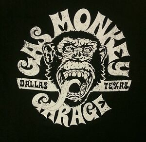Gas-Monkey-Garage-T-shirt-Various-Sizes-Brand-New-Authentic-Officially-Licensed
