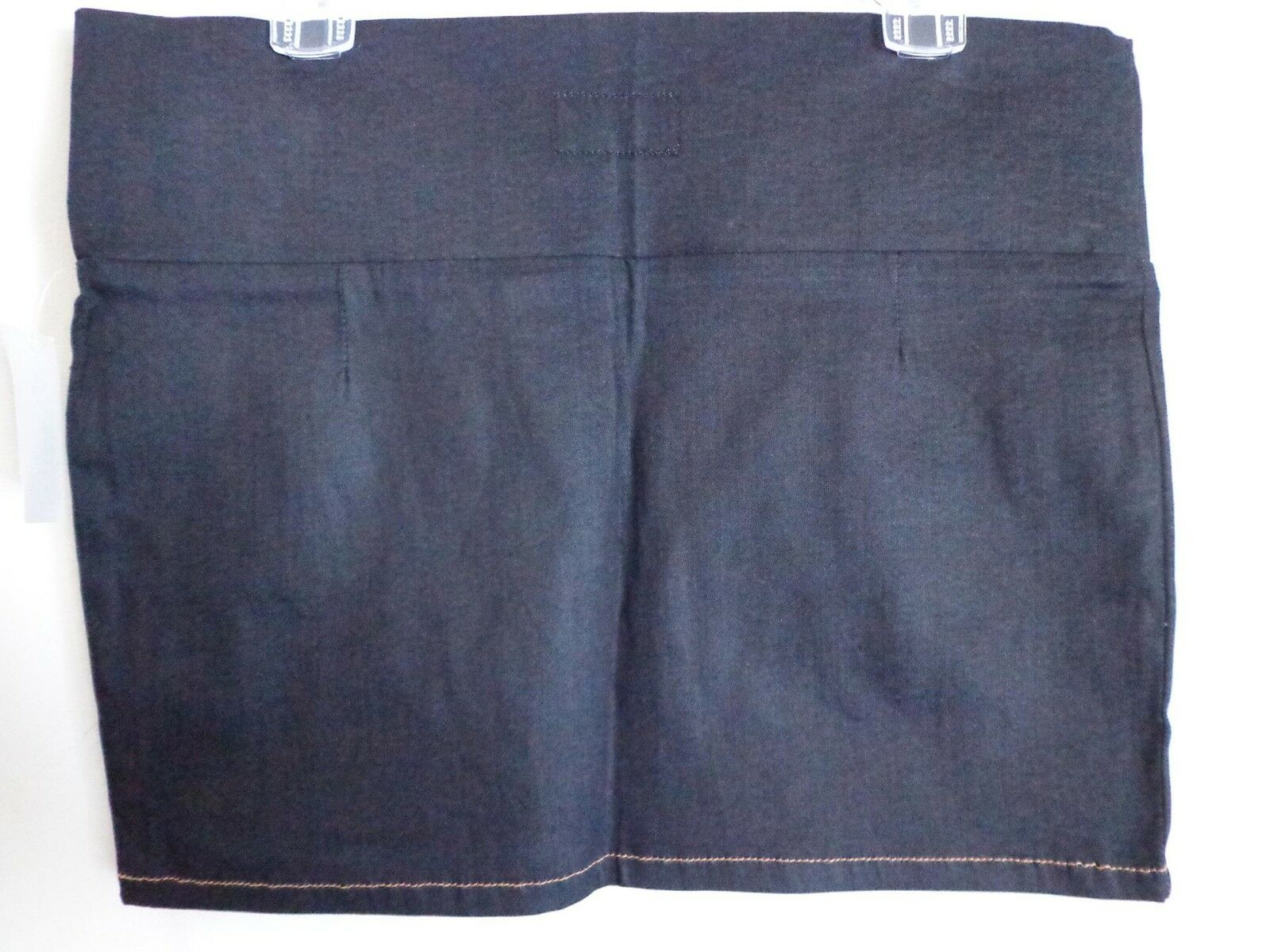 Current Elliott pencil dark bluee cotton mini skirt New