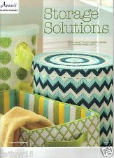 Storage Solutions  ~  plastic canvas book   ~ New Release  ~  Soft Cover Book