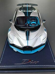 Bugatti-Divo-Argent-grey-metal-MR-1-18-NO-BBR-Looksmart
