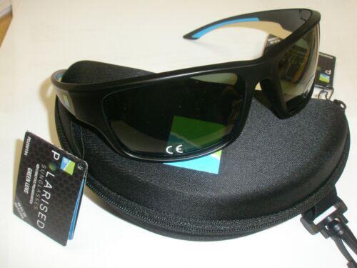 Grüne Linse Preston Polaisierte Sonnenbrille Tasche Angeln Gerät