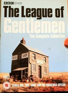 DVD-THE-LEAGUE-OF-GENTLEMEN-SERIES-1-TO-3-COMPLETE-COLLECTION-amp-Xmas-Special