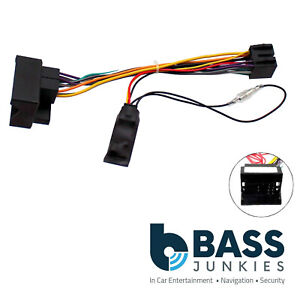 Details about Ford Mondeo 2004-2014 Car Stereo Quadlock Wiring Harness on