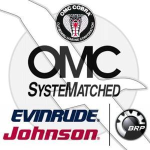 Johnson Evinrude Outboard /& OMC Sterndrive Motor Hose Clamp 0979803 979803