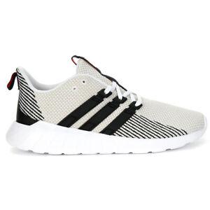 Adidas Men's Essentials Questar Flow Cloud White/Core Black Running Shoes F36...