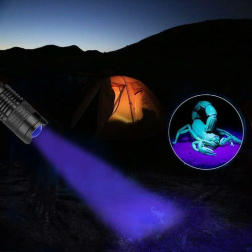 Ultraviolet  Light Violet Flashlight Torch Light Lamp Blacklight Night Lighting