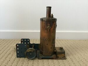 VINTAGE-MECCANO-STEAM-ENGINE-BOXED-AND-WITH-INSTRUCTIONS