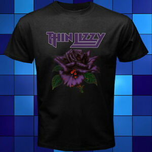 New THIN LIZZY China Town Rock Band Legend Men/'s Black T-Shirt Size S to 3XL