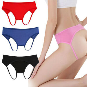 Practice-New-Women-Girls-Open-Butt-Backless-Panties-Thongs-Lingerie-Underwears