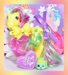 ❤️My Little Pony MLP Vtg G1 Style HQG1C Pretty Mane Artistry Girls Pizzazz❤️