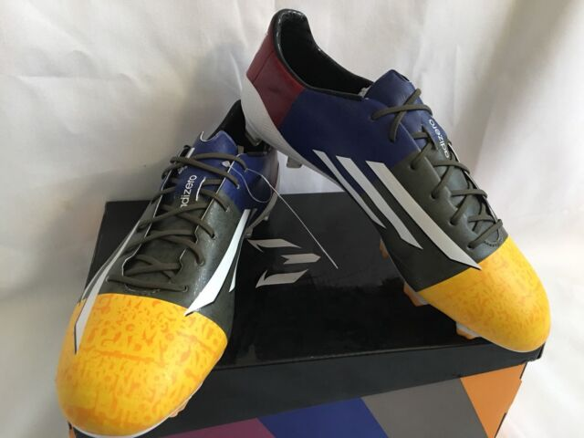 buy popular d93b8 05bfd Adidas F50 Adizero Messi fg Barcelona Soccer Cleats Size 9