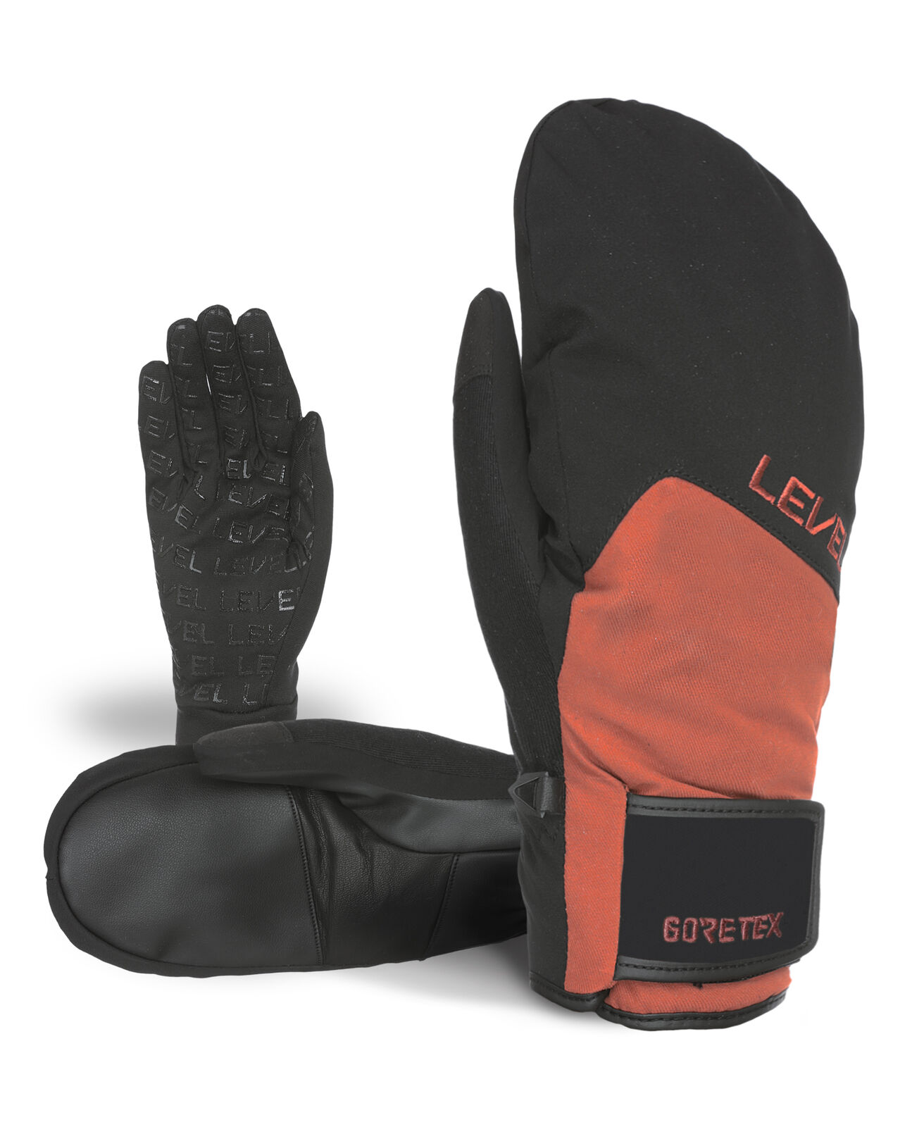Level Handschuh  Rescue Mitt Gore-Tex brown winddicht wasserdicht