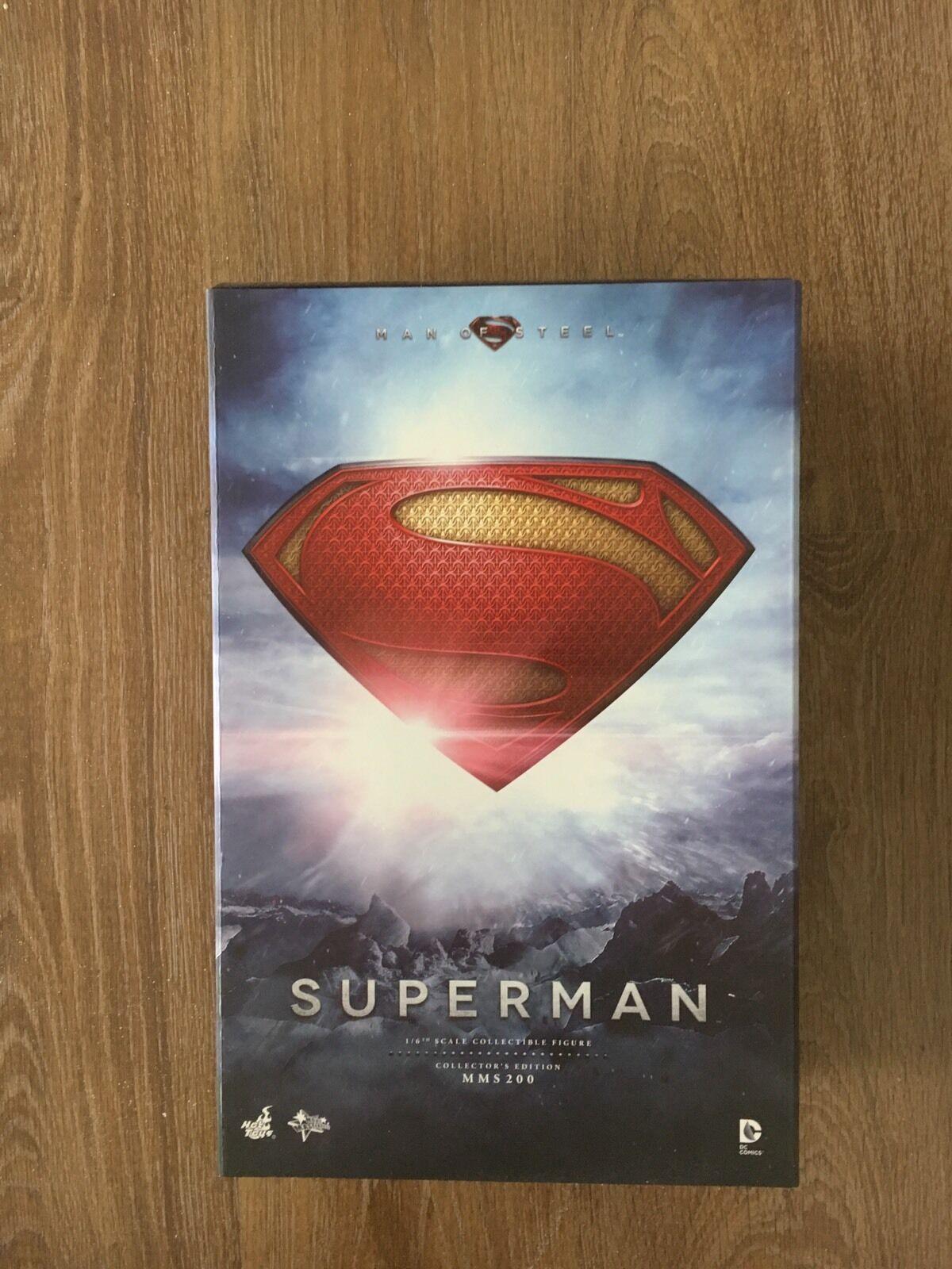 HOT TOYS 16 SUPERMAN MAN OF STEEL MMS 200 KRYPTONIAN COMMAND KEY