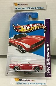 '69 Camaro #197 * RED * 2013 Hot Wheels * H108