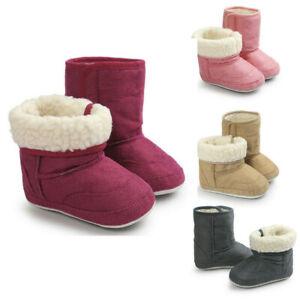 Winter-Boy-Girls-Baby-Soft-Sole-Snow-Boots-Warm-Crib-Shoes-Toddler-Boots-Prewalk