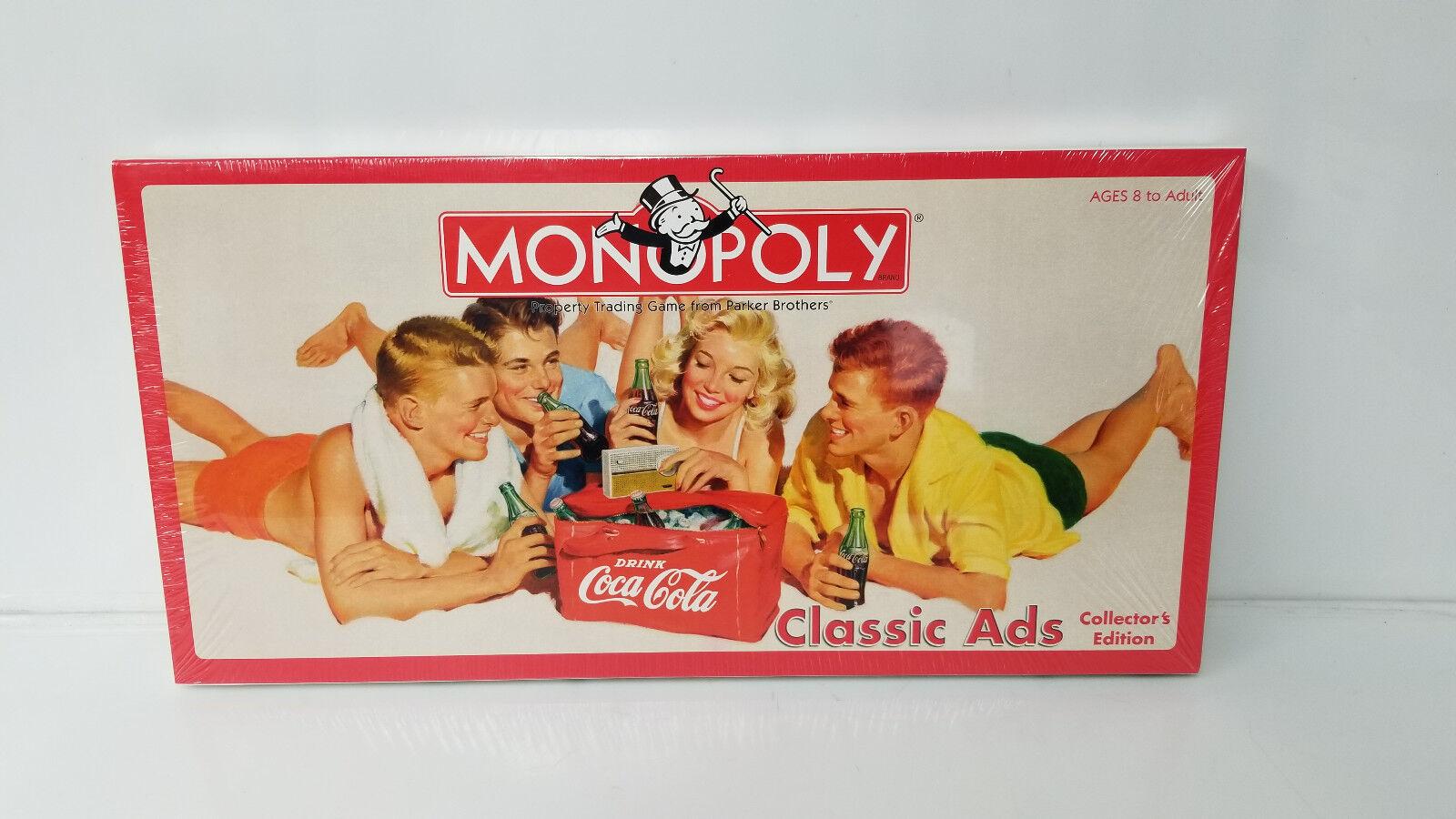 Monopoly coca  cola classeic ads  vendita economica