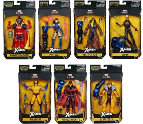 Marvel Legends ~ X-Men Legends wave 3 Action Figure Set avec Apocalypse BAF