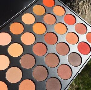 Om Color Matte Nature Glow Eyeshadow Palette