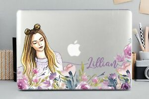 Personalized-Girl-Cute-Macbook-Air-11-13-Pro-13-15-Top-Bottom-Printed-Case-Cover
