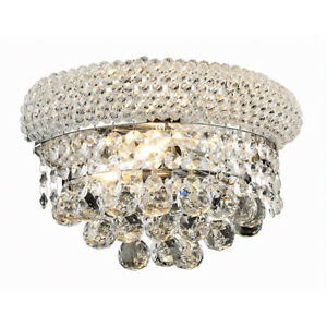 CRYSTAL-WALL-SCONCE-CHROME-BEDROOM-DINING-LIVING-ROOM-FIXTURE-FOYER-2-LIGHT-12-034