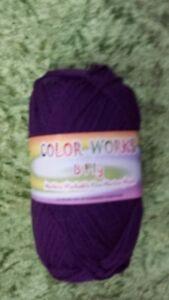 Heirloom Color Works 8 Ply #415 Dark Pink 100/% Wool