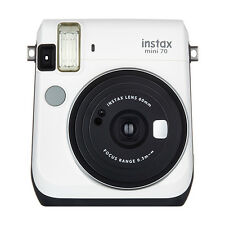 Fujifilm Instax Mini 70 Fuji Instant Film Camera Moon White