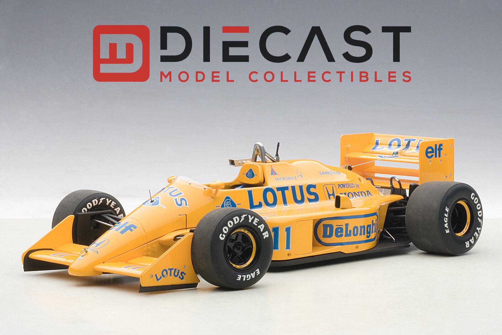 AUTOART 88726 LOTUS 99 T Honda F1 Grand Prix du Japon 1987 S. Nakajima  11, 1 18TH échelle
