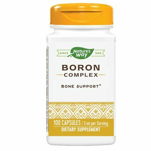 Boron Complex 100 Caps 3 mg by Nature's Way