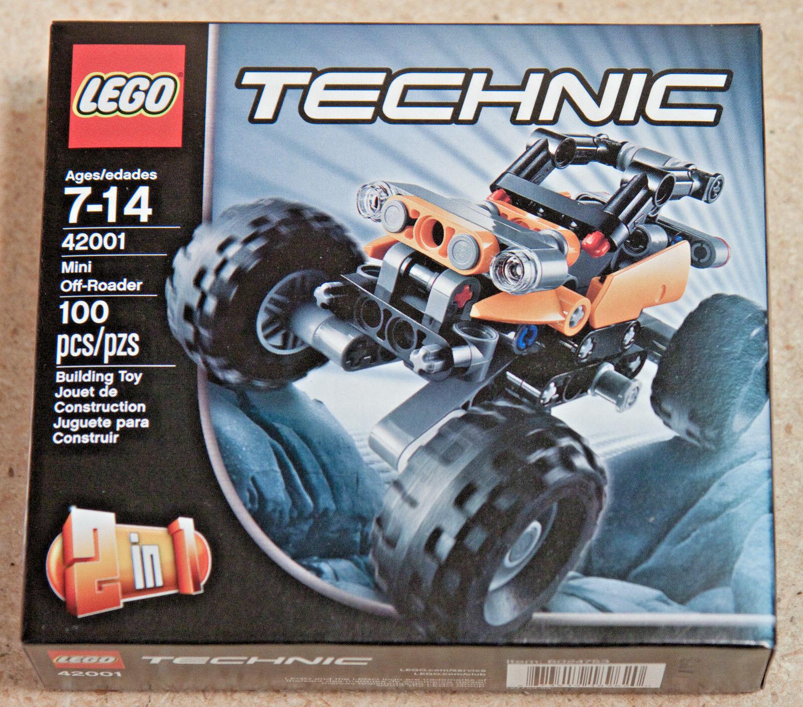 Lego Technic Mini Off Roader New Sealed Box 42001 Nqatje1811 Lego