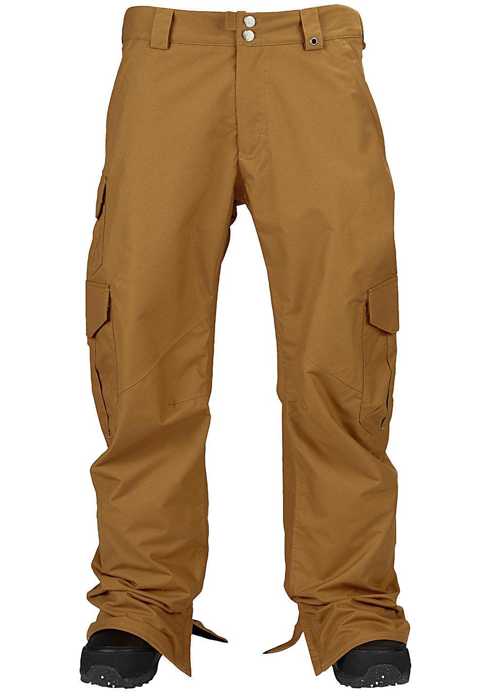 Burton Cargo Mens Snowboard Ski Pants Winter Snow Trousers Salopettes 10K RP