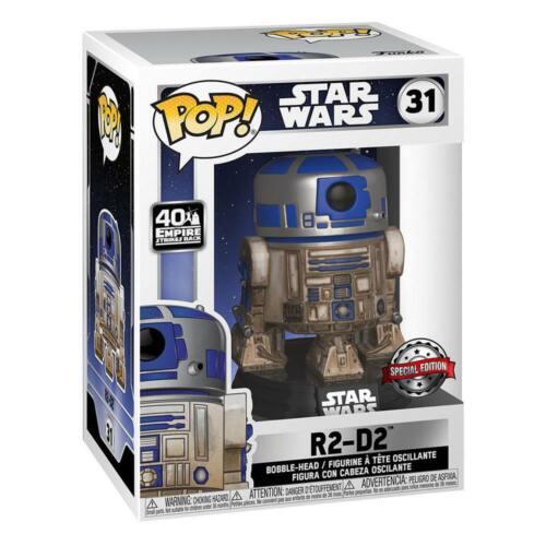 Dagobah Star Wars 40th Anniversary Funko POP 31 Figur R2-D2 Nr