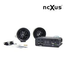 A-510 USB SD MP3 FLAC APE FM Player 12V Motorrad Radio + Außenlautsprecher + FB